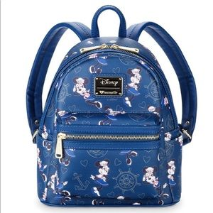 Disney Loungefly Cruise Line Minnie Mouse Backpack